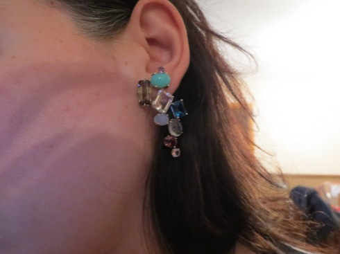 I think I've decided on an updo to show off these incredible earrings.